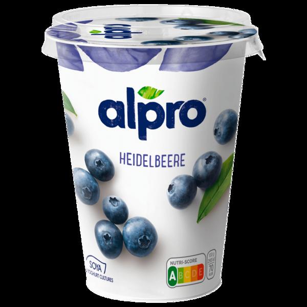 Alpro Soja-Joghurtalternative Heidelbeere 500g