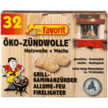 Favorit Öko Zündwolle 32 Stück