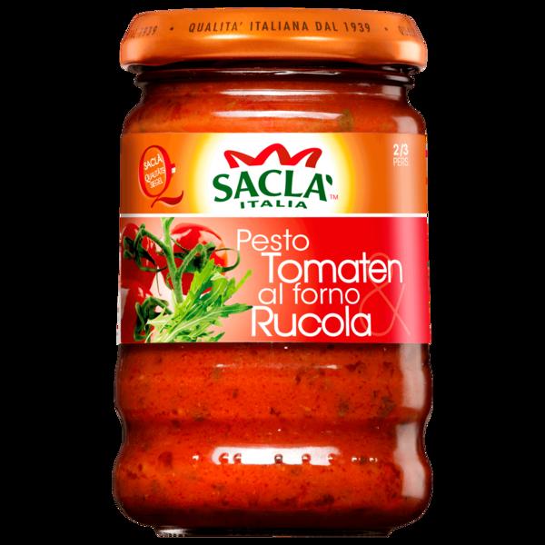 Saclà Pesto al forno mit Tomaten und Rucola 190g