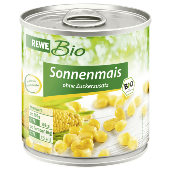 REWE Bio Sonnenmais 140g