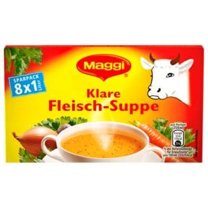Maggi Klare Fleisch-Suppe 8x21g ergibt 8l