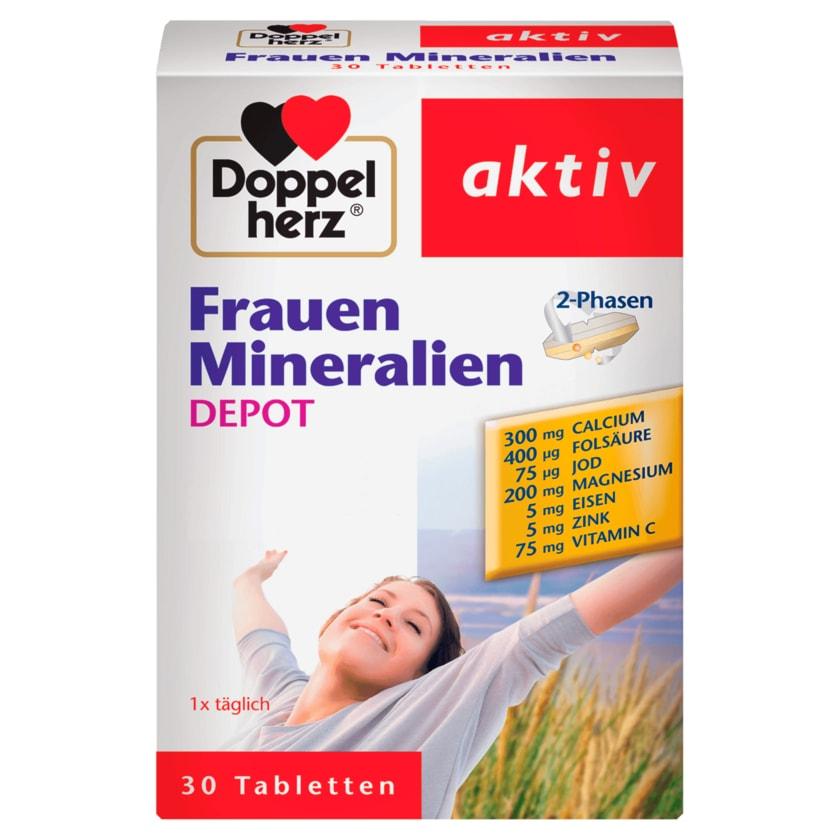 Doppelherz Frauen-Mineralien Depot 30 Stück