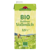 Schwarzwaldmilch Bio H-Milch 3,5% 1l