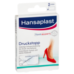 Hansaplast Druckstopp Transparentes Schutzpolster 2 Stück