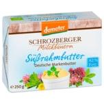 Demeter Schrozberger Milchbauern Bio Süßrahmbutter 250g