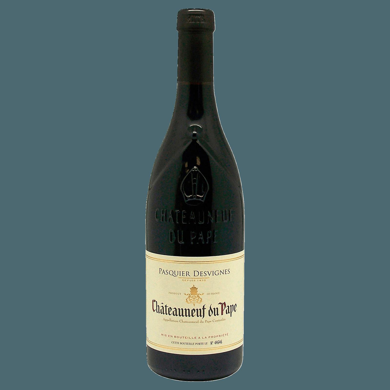 Pasquier Desvignes Châteauneuf du Pape 0,75l