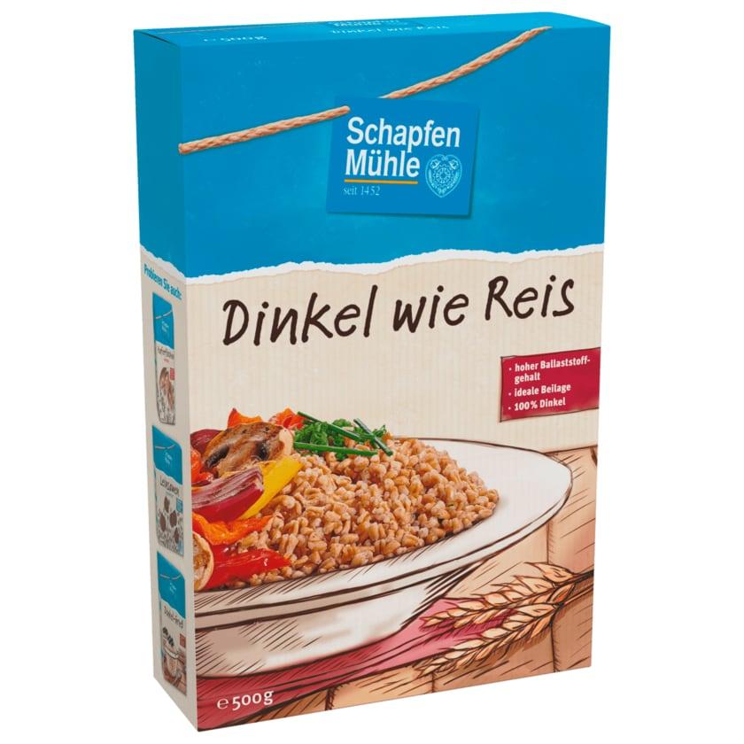 Schapfen Mühle Dinkel wie Reis 100% Dinkel 500g