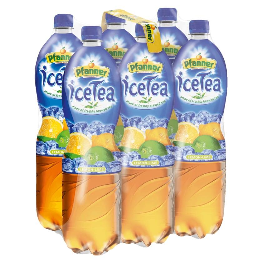 Pfanner Ice-Tea Lemon-Lime 6x1,5l