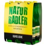 Welde Remix Natur Radler 6x0,33l