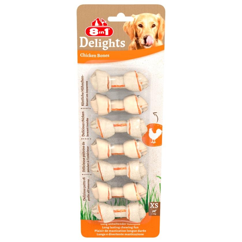 8in1 Delights Kauknochen XS 7 Stück