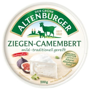 Der Grüne Altenburger Ziegen-Camembert 200g
