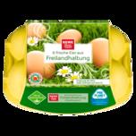 REWE Beste Wahl Eier Freilandhaltung Klasse XL 6 Stück