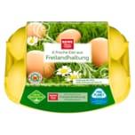 REWE Beste Wahl Eier Freilandhaltung 6 Stück