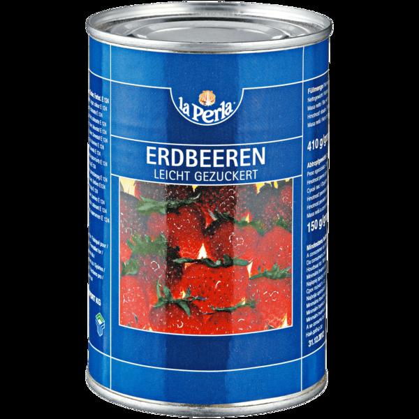 La Perla Erdbeeren leicht gezuckert 150g