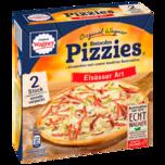 Original Wagner Pizza Steinofen Pizzies Elsässer Art Tiefgefroren 2x125g