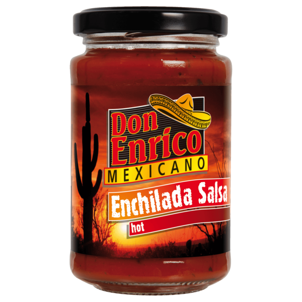 Don Enrico Enchilada-Salsa scharf 200ml
