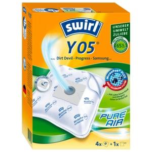 Swirl Staubsaugerbeutel Y 05 MicroPor Plus 4 Stück