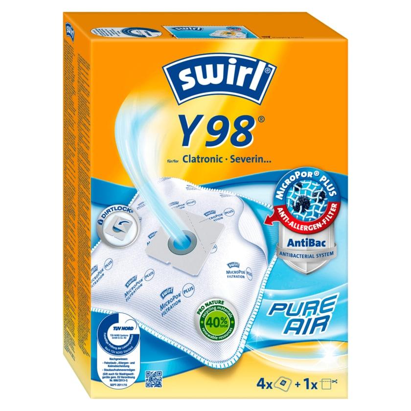 Swirl Staubfilterbeutel Y98 MicroPor Plus 4 Stück