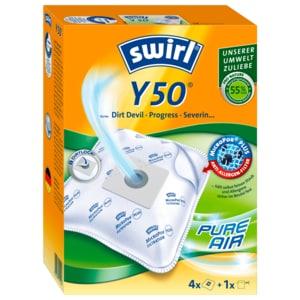Swirl Staubsaugerbeutel Y 50 MicroPor Plus 4 Stück
