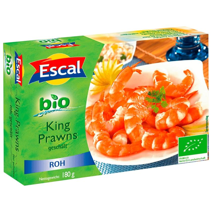 Escal Bio King Prawns roh 180g