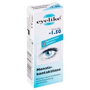 Eyelike Monatskontaktlinse Stärke -1,50