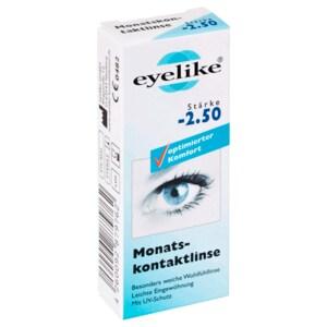 Eyelike Monatskontaktlinse Stärke -2,50