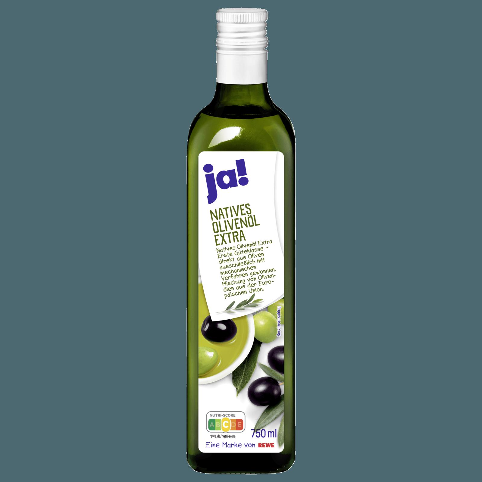 ja! Natives Olivenöl extra 750ml