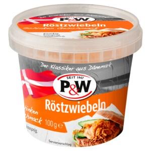 P&W Röstzwiebeln mit Schinken 100g