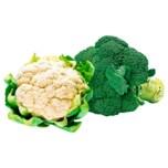 Blumenkohl und Broccoli 500g