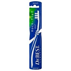 Dr. Best Zahnbürste Classic Hoch-Tief weich