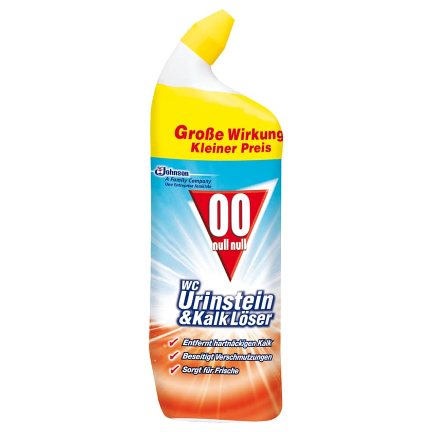 00 null null WC Urinstein- & Kalklöser 750ml