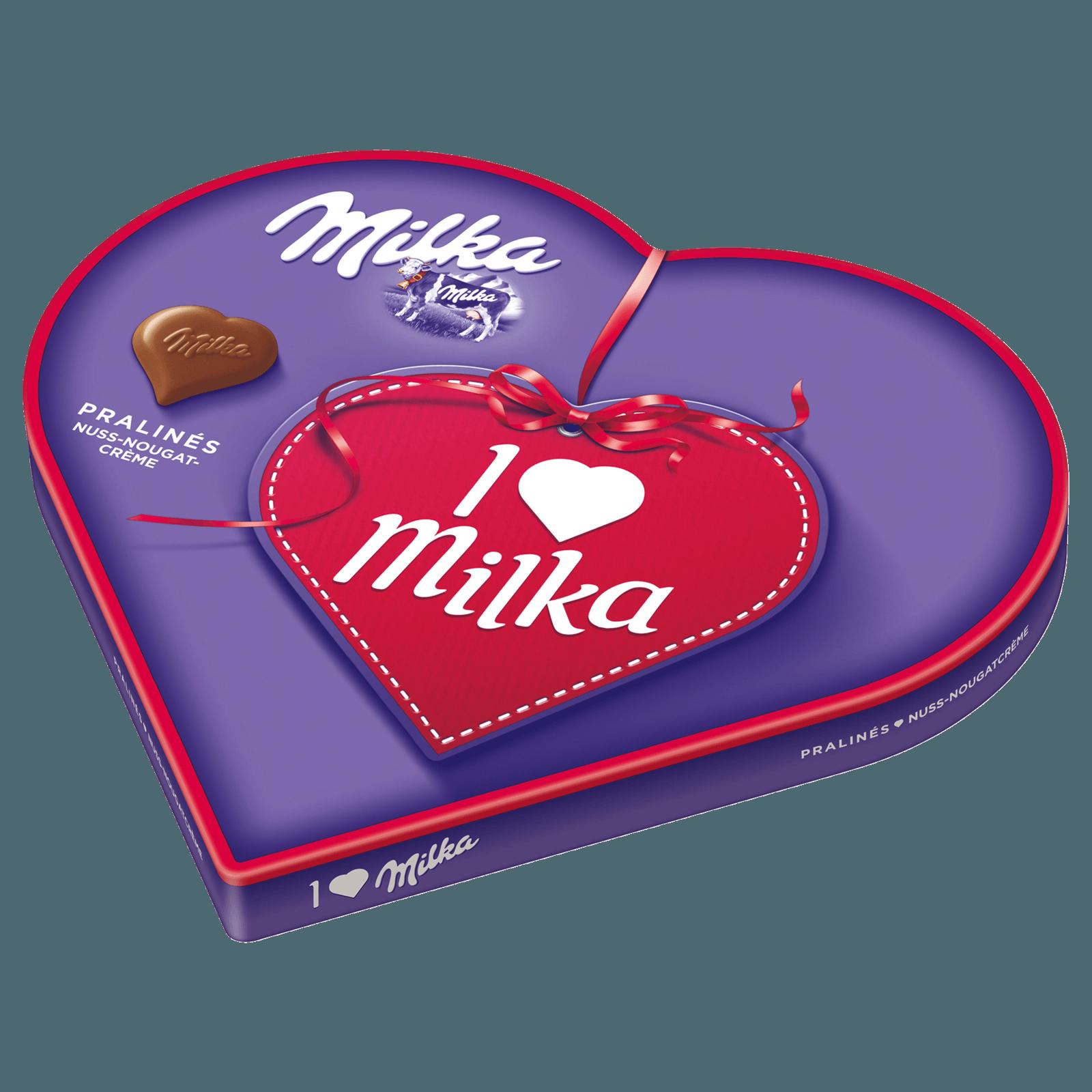 Milka Pralinés I Love Milka Nougat 187g