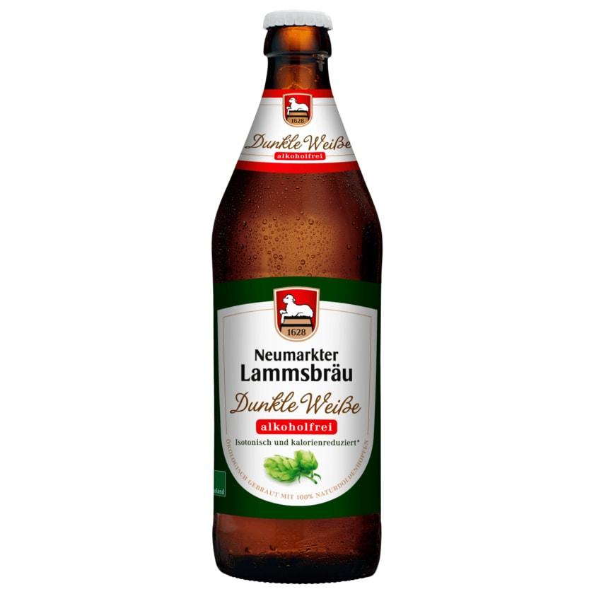 Neumarkter Lammsbräu Dunkle Weiße Alkoholfrei 0,5l