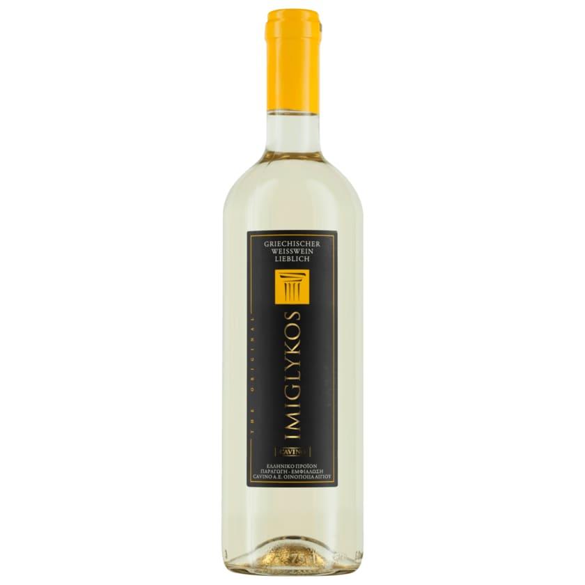 Imiglykos Weißwein Cavino lieblich 0,75l