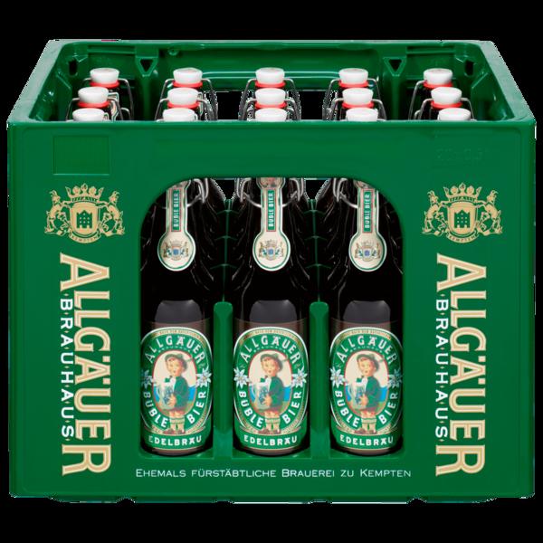 Allgäuer Büble Bier Edelbräu 20x0,5l