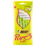 BIC Pure 3 Lady Rasierer 4 Stück
