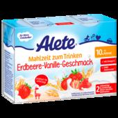 Alete Mahlzeit zum Trinken Erdbeere-Vanille-Geschmack 2x200ml