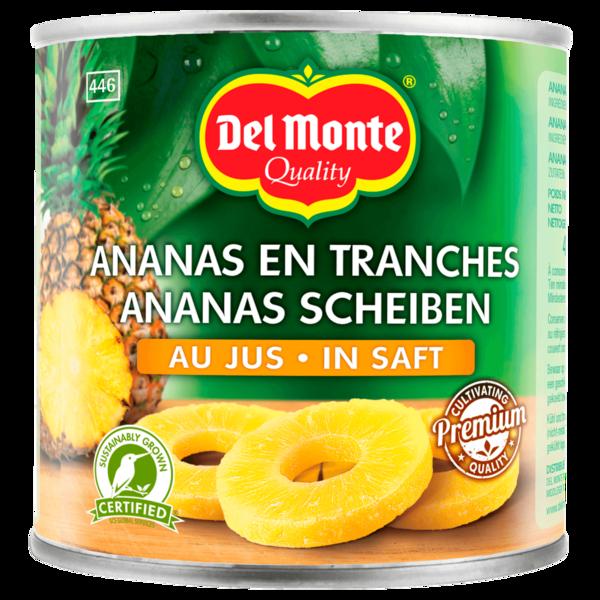 Del Monte Ananas Scheiben in Saft 435g