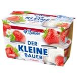 Bauer Fruchtjoghurt der Kleine Bauer Erdbeere 4x100g
