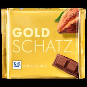 Ritter Sport Goldschatz 250g