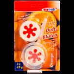 Oro-Fresh WC-Duftblüten 2in1 Orange 3x45g