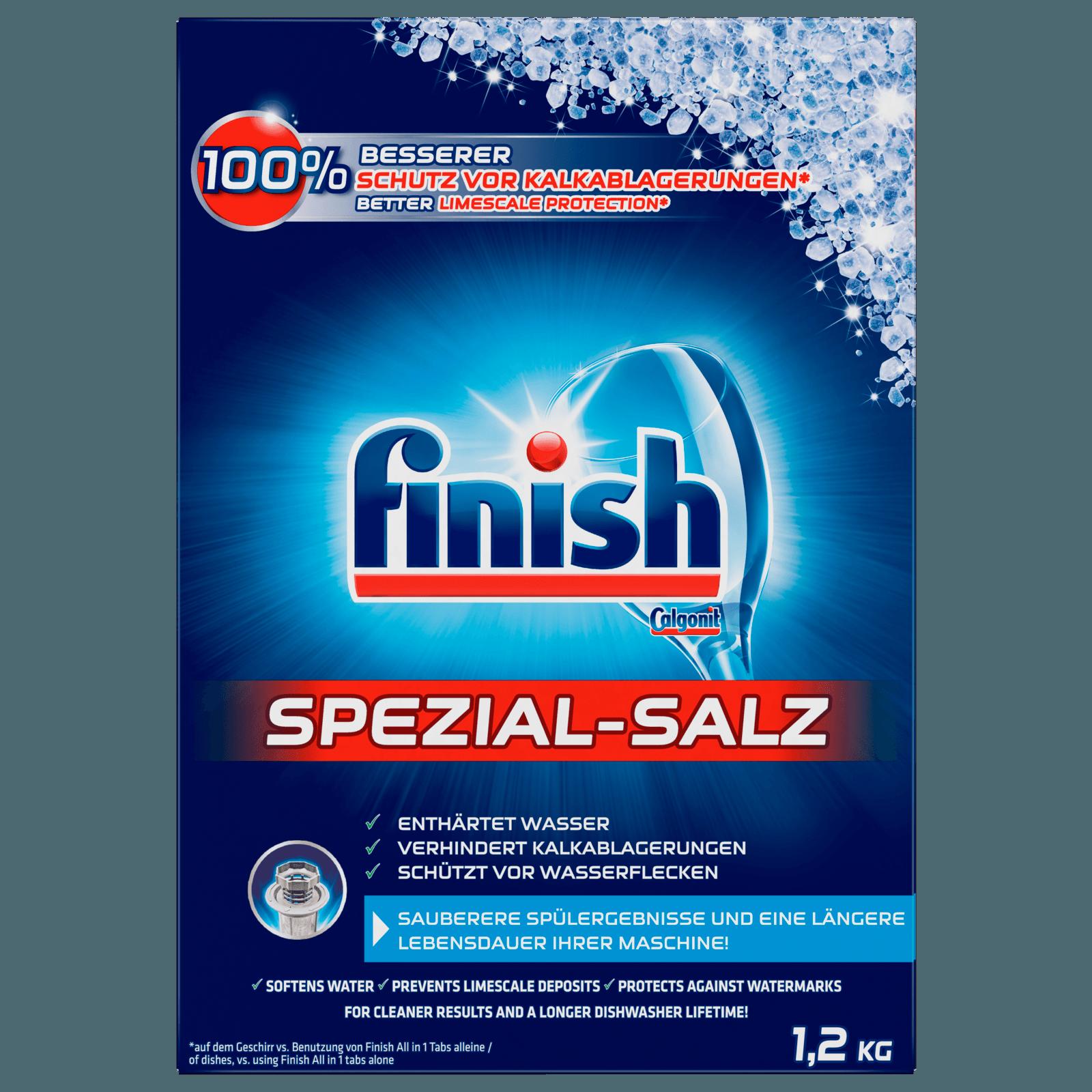 Finish Calgonit Spezial-Salz 1,2kg
