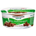 Andechser Natur Bio-Rahmjogurt Stracciatella 150g