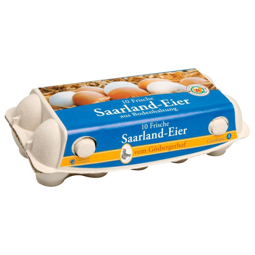 Saarland-Eier Bodenhaltung 10 Stück