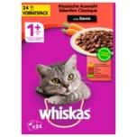Whiskas 1+ Fleischauswahl in Sauce 24x100g