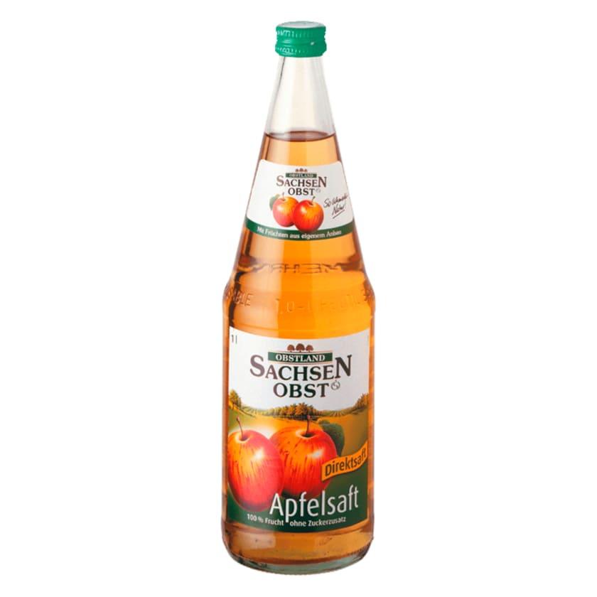 Sachsenobst Apfelsaft Direktsaft 1l