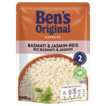 Uncle Ben's Express Basmati- & Thai-Reis 250g