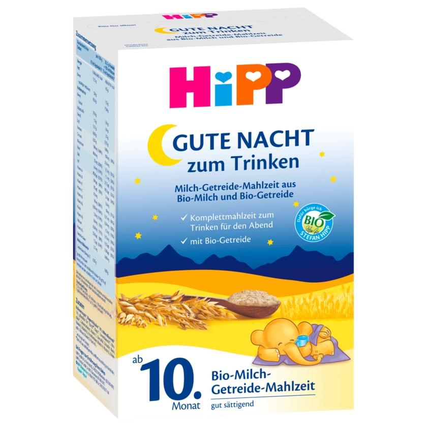 Hipp Gute Nacht Milch Getreidemahlzeit Bio 500g