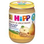Hipp Frucht & Getreide Bio Birne in Apfel mit Dinkel 190g