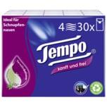 Tempo Taschentücher sanft und frei 4-lagig, 30x9 Tücher